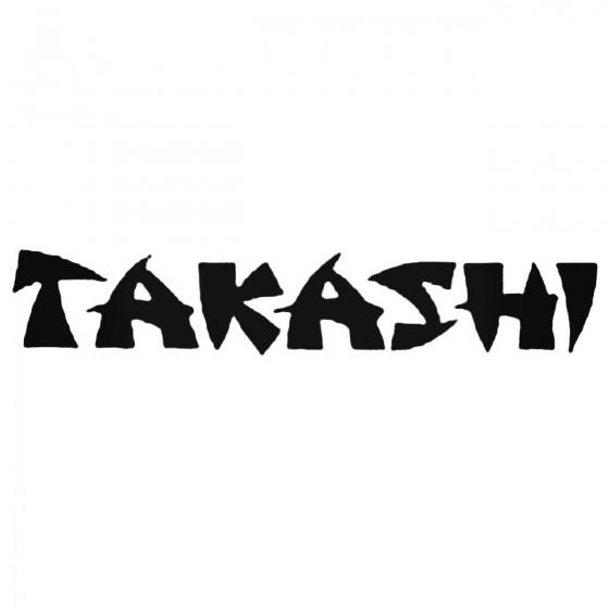 Takashi Band Decal Sticker