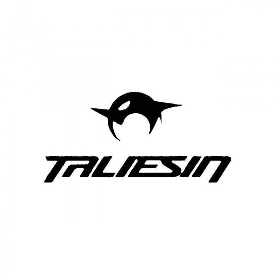 Taliesin 3band Logo Vinyl...