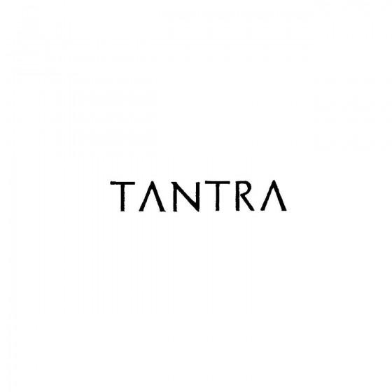 Tantraband Logo Vinyl Decal