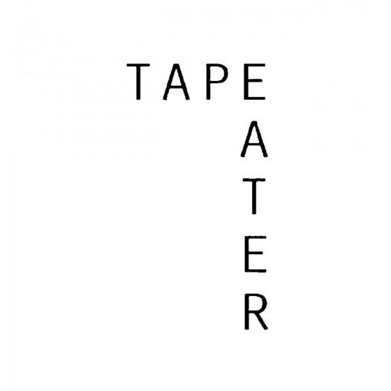 Tape Eaterband Logo Vinyl...