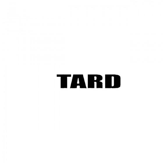 Tardband Logo Vinyl Decal