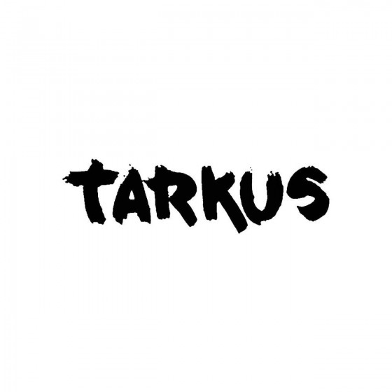 Tarkus 2band Logo Vinyl Decal