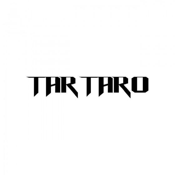 Tartaroband Logo Vinyl Decal