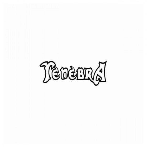 Tenebra Esp Band Decal Sticker