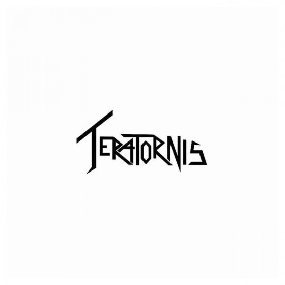 Teratornis Band Decal Sticker