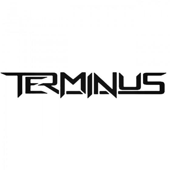 Terminus Uk Band Decal Sticker