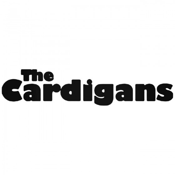 The Cardigans Decal Sticker