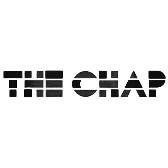 The Chap Band Decal Sticker