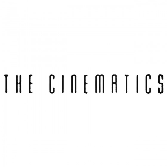 The Cinematics Band Decal...