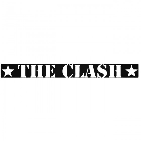 The Clash Stencil Band...