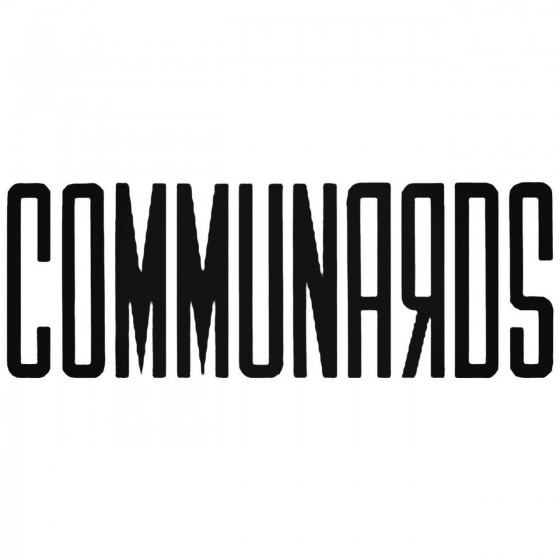 The Communards Band Decal...