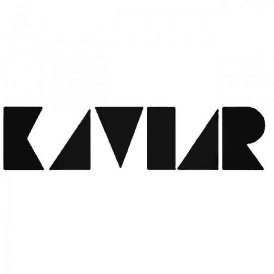 The Kaviar Band Decal Sticker