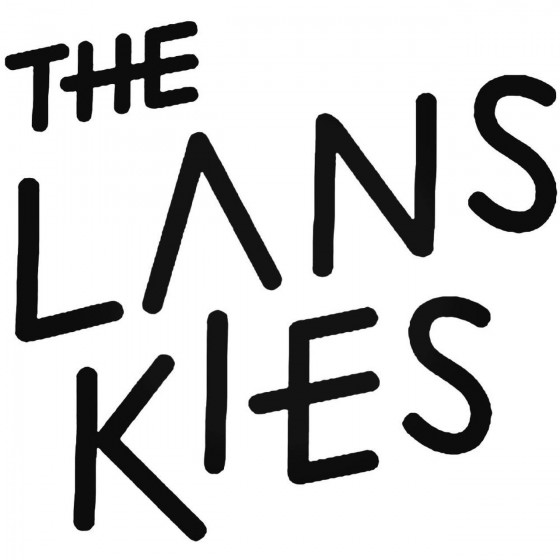 The Lanskies Band Decal...
