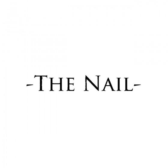 The Nailband Logo Vinyl Decal