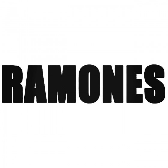 The Ramones Band Decal Sticker