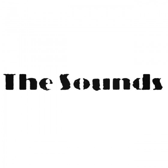 The Sounds Punk Band Decal...
