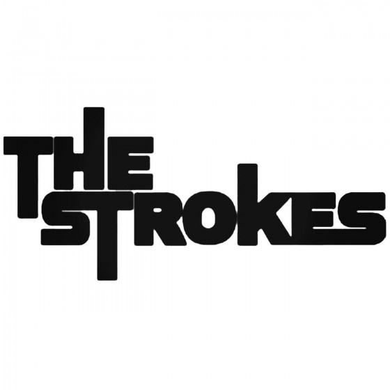 The Strokes Decal Sticker
