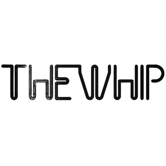 The Whip Band Decal Sticker