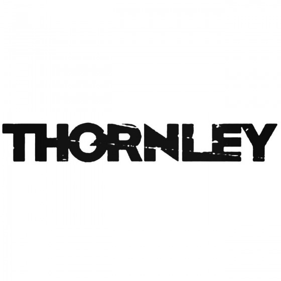 Thornley Band Decal Sticker