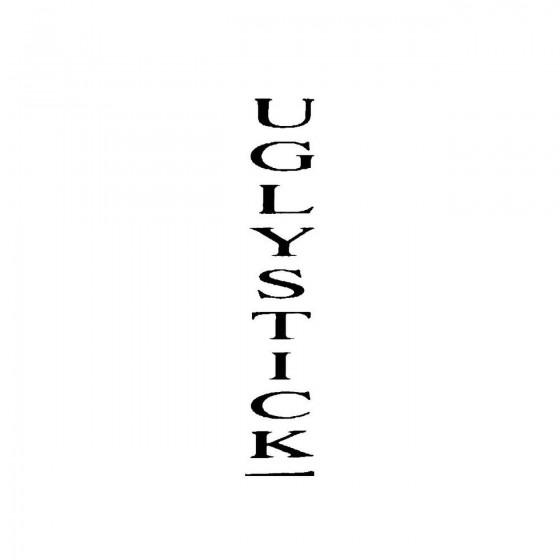 Uglystickband Logo Vinyl Decal
