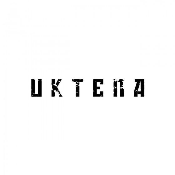 Uktenaband Logo Vinyl Decal