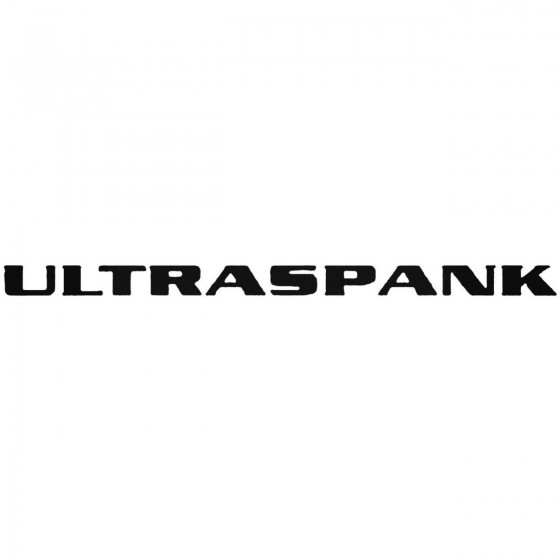 Ultraspank Band Decal Sticker