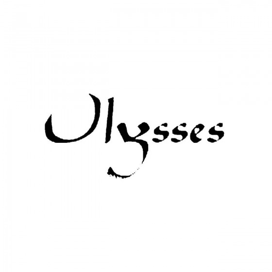 Ulyssesband Logo Vinyl Decal
