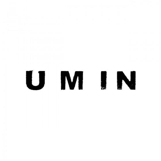 Uminband Logo Vinyl Decal