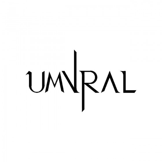 Umvralband Logo Vinyl Decal