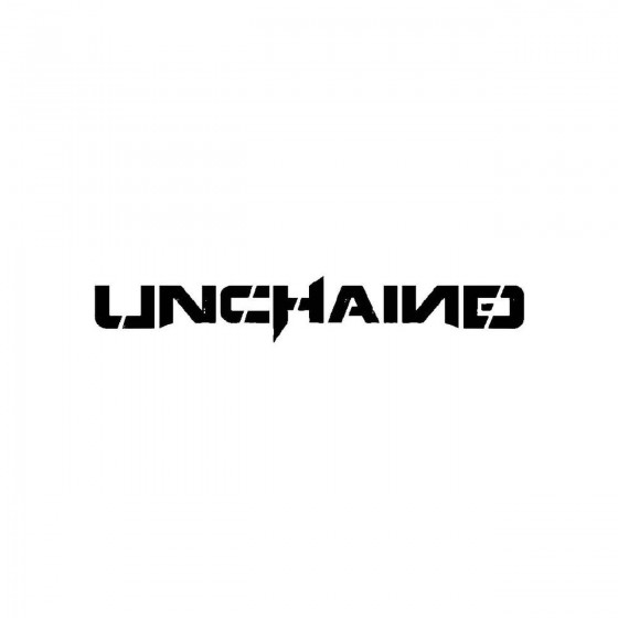 Unchained 6band Logo Vinyl...