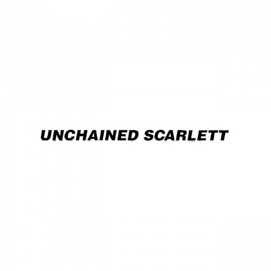 Unchained Scarlettband Logo...