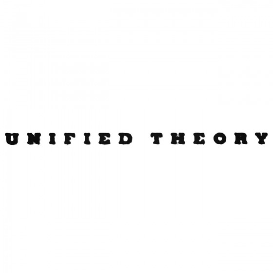 Unified Theory Band Decal...