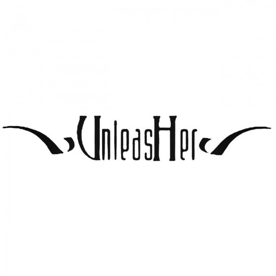 Unleasher Band Decal Sticker