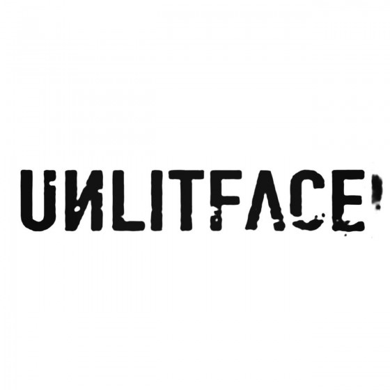 Unlit Face Band Decal Sticker