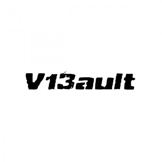 V13aultband Logo Vinyl Decal