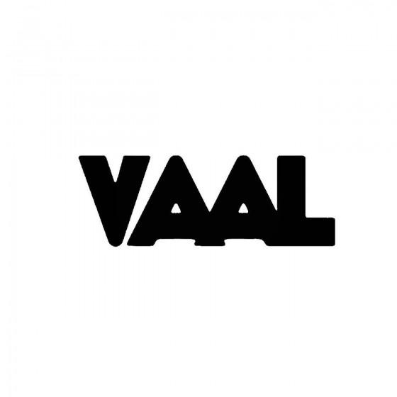 Vaalband Logo Vinyl Decal
