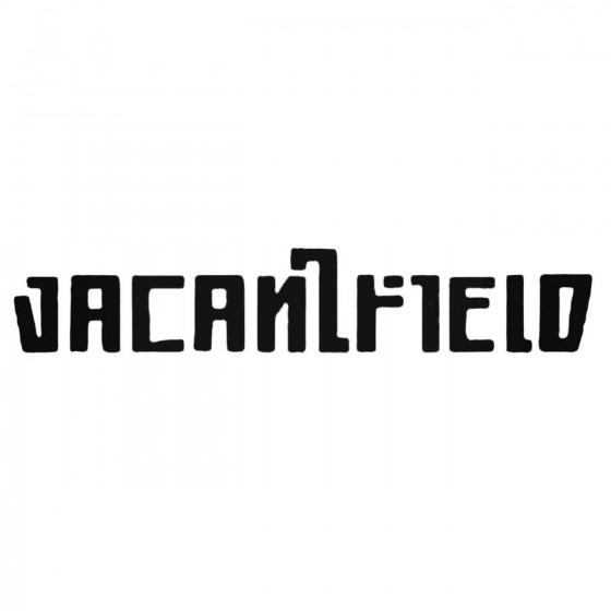 Vacantfield Band Decal Sticker
