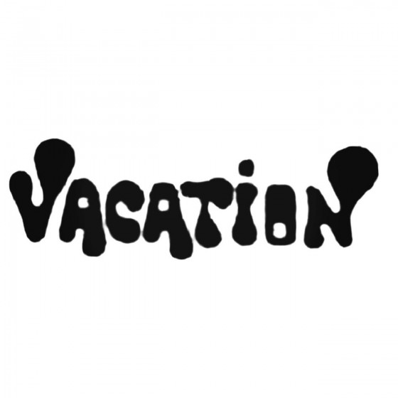 Vacation Band Decal Sticker