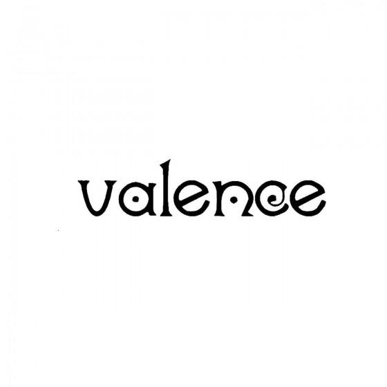 Valenceband Logo Vinyl Decal