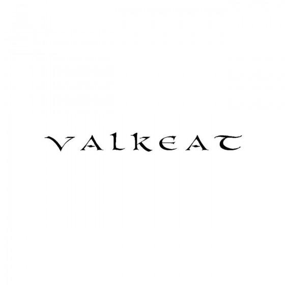 Valkeatband Logo Vinyl Decal