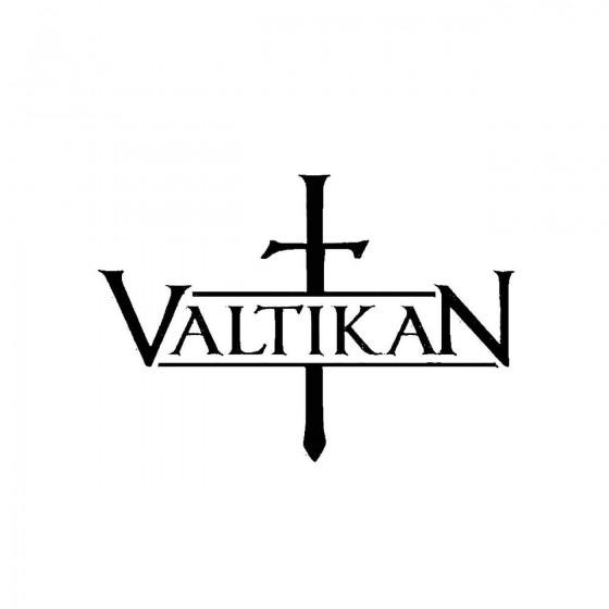 Valtikanband Logo Vinyl Decal
