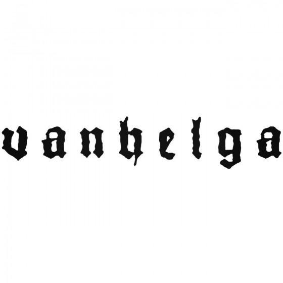 Vanhelga Band Decal Sticker