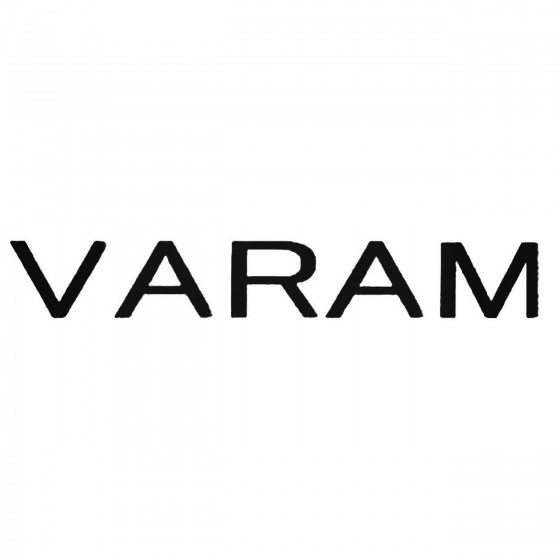 Varam Band Decal Sticker