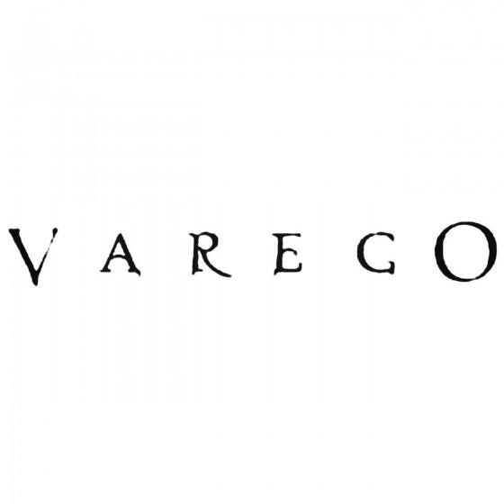 Varego Band Decal Sticker