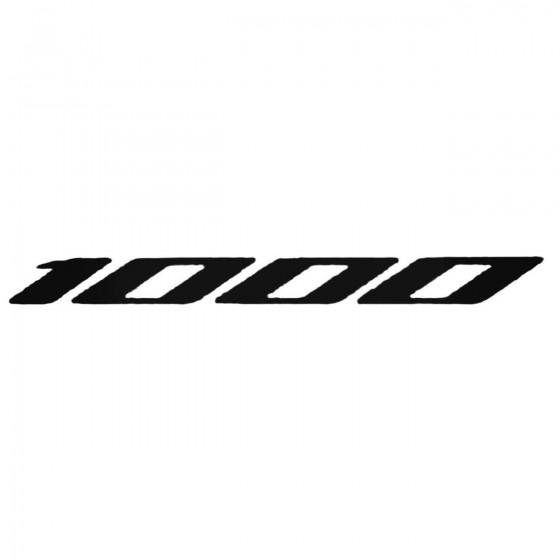 1000 Fireblade Decal Sticker