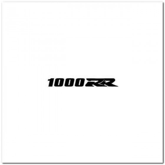 1000Rr Aftermarket Decal...