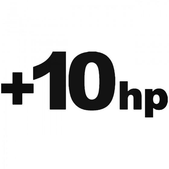 10hp Horsepower Jdm...