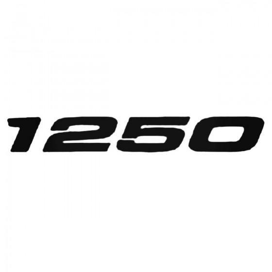 1250 Decal Sticker