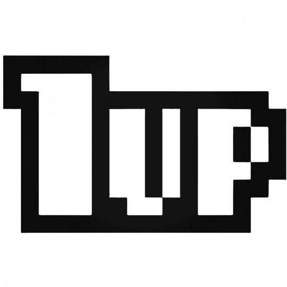 1up Jdm Decal Sticker