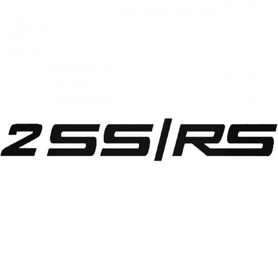 2ss Rs Logo Sticker
